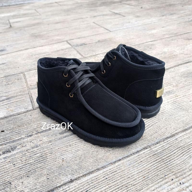 Низкие уороткие  угги ботинки замш