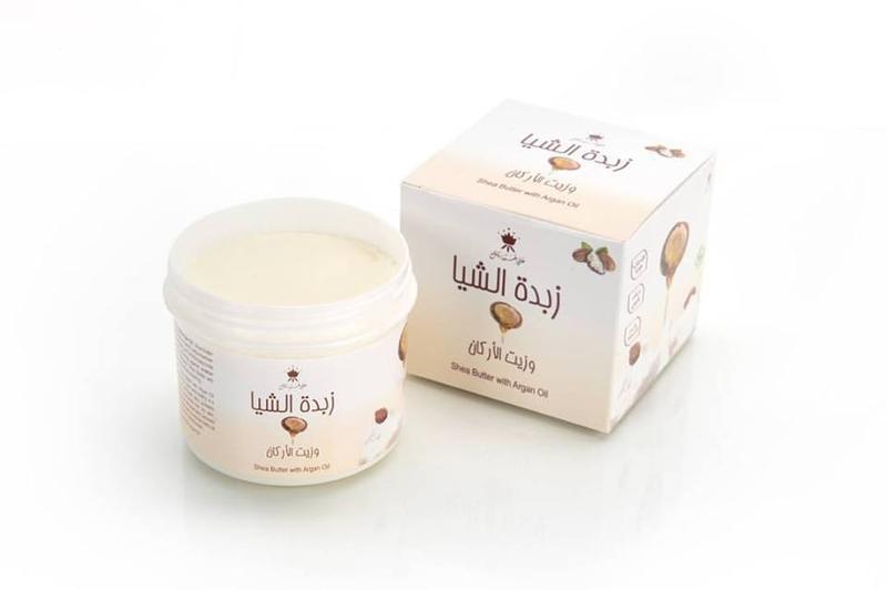 Масло ши с аргановым маслом для лица, волос и тела арабские эм...