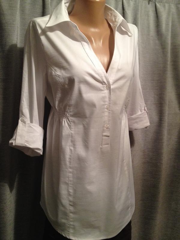 Оригинальная удлиненная блузочка бренд yessica