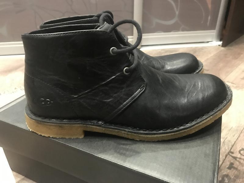 Ботинки ugg leighton black - Фото 3