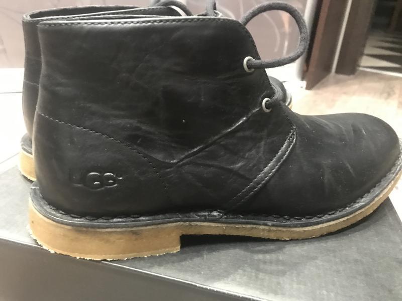 Ботинки ugg leighton black - Фото 4