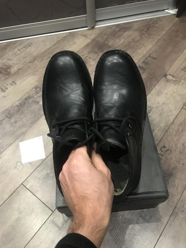 Ботинки ugg leighton black - Фото 5