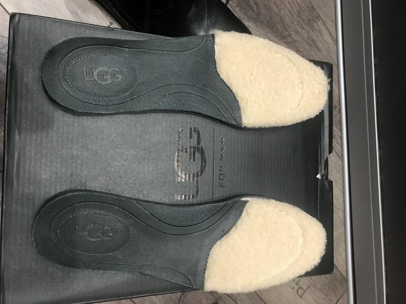 Ботинки ugg leighton black - Фото 7