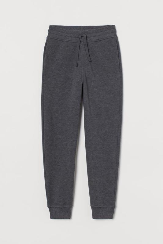 Утепленные спортивные штаны h&m