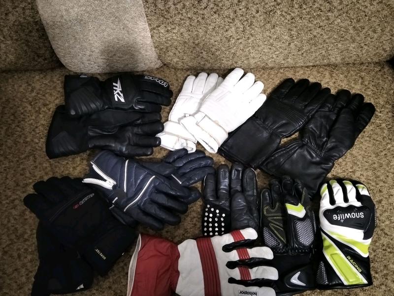 Мотоперчатки разных размеров