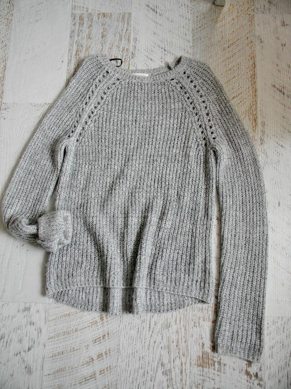 Нежный мягкий вязаный свитер h&m s-m