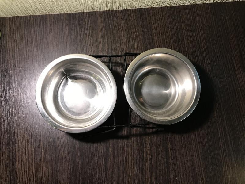 Миски для собак на подставке (для мелких пород) б/у