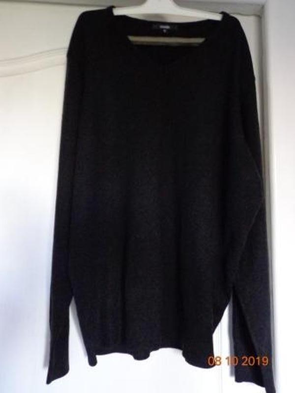 Черный свитер george