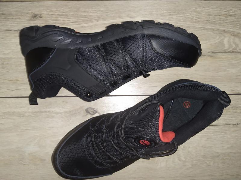 Термо кроссовки ботинки мужские timberland деми осень - Фото 3