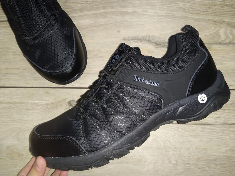 Термо кроссовки ботинки мужские timberland деми осень