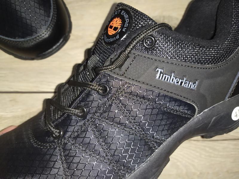 Термо кроссовки ботинки мужские timberland деми осень - Фото 2