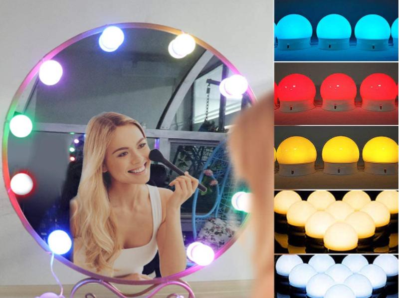 Подсветка для зеркала с регулировкой яркости для макияжа NO378 RG