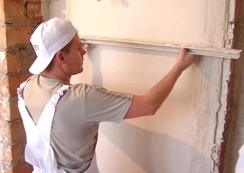 Штукатурка, выравнивание стен потолков