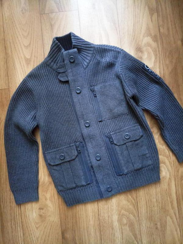 Вязаный кардиган, куртка,  ветровка, свитер,  кофта  next на 5...
