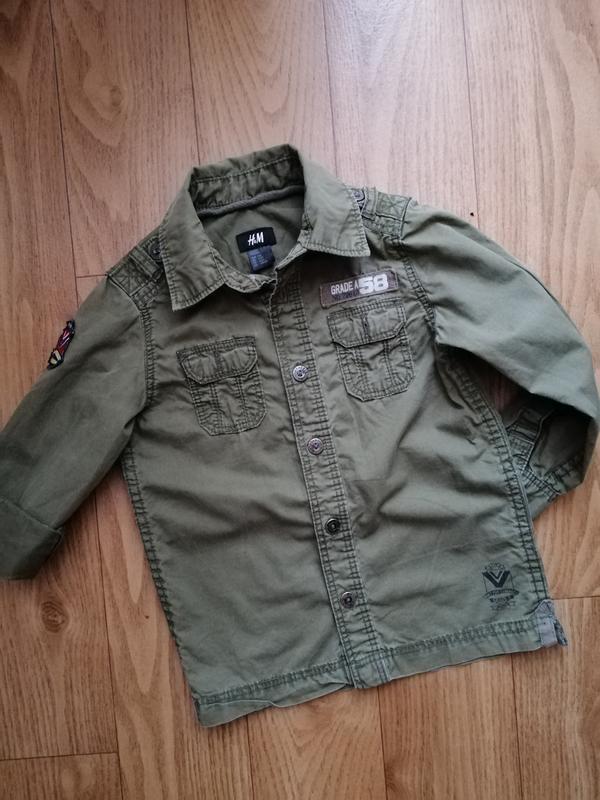 Рубашка h&m на 4-5 лет