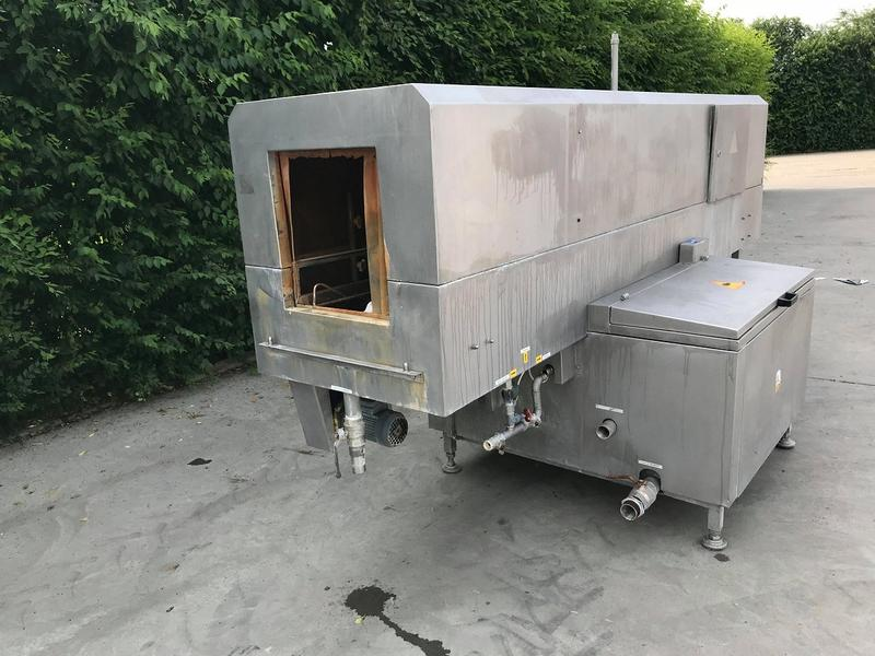 Автоматична мийка для ящиків (тунельна)