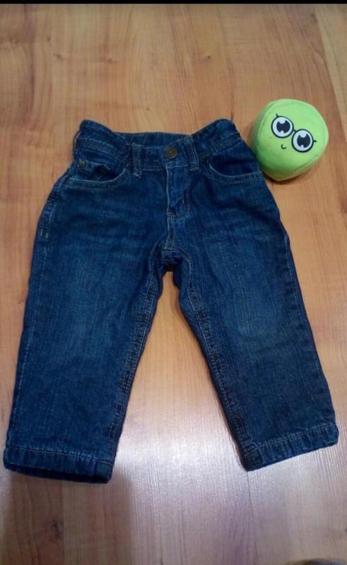 Теплые джинсики с подкладкой