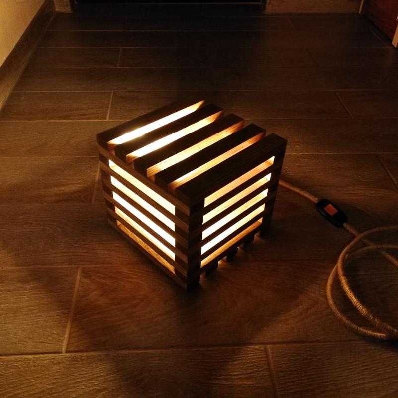 Лофт светильник - ночник (Loft lamp)
