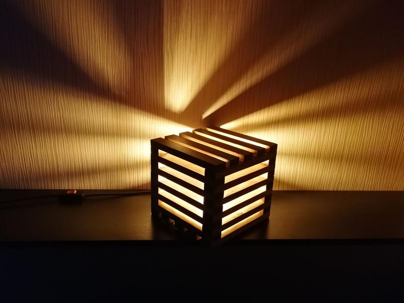 Лофт светильник - ночник (Loft lamp) - Фото 4