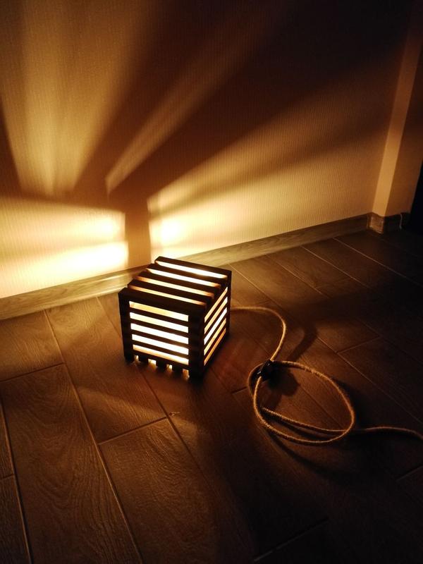 Лофт светильник - ночник (Loft lamp) - Фото 3
