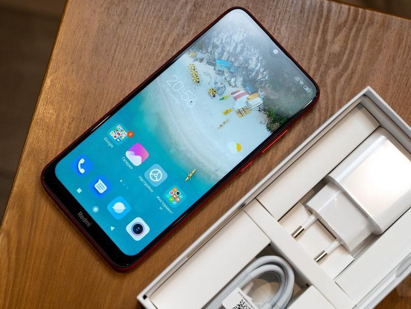 Смартфон Xiaomi Redmi 8A Ocean Blue, синий, 5000 мА*ч +чехол - Фото 10