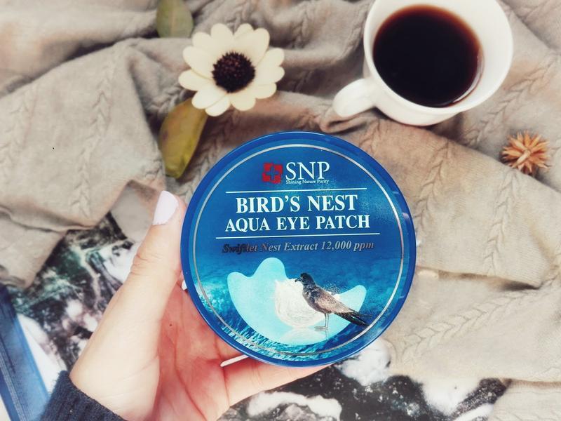 Корейские патчи под глаза с экстрактом ласточкиного гнезда snp