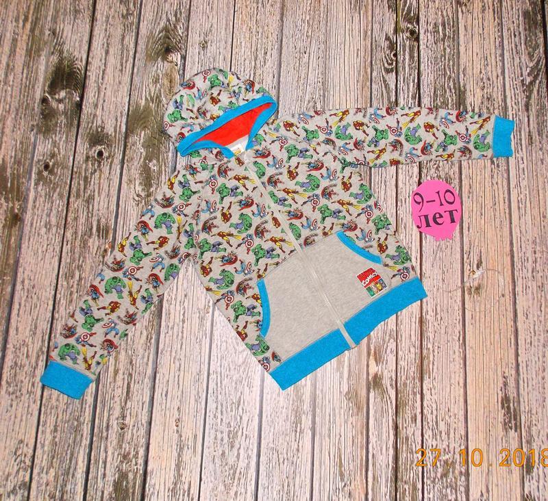 Фирменная кофта TU для мальчика 9-10 лет, 134-140 см