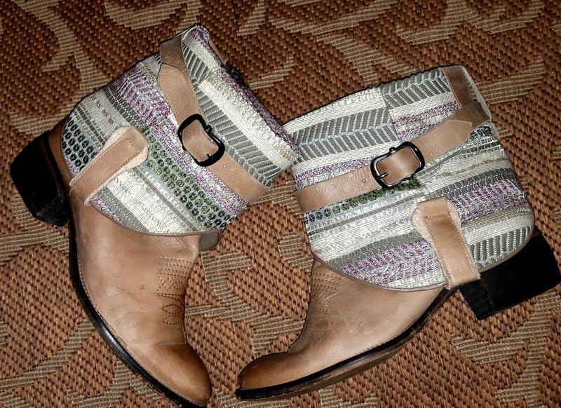 Круті шкіряні черевики чоботи іспанського бренду xyxyx - Фото 3