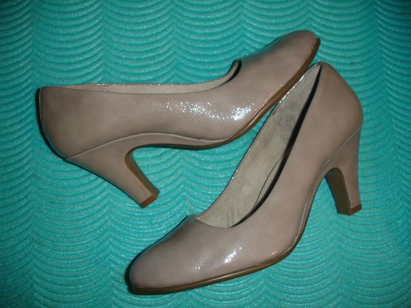 Фирменные (англия) кожаные стильные туфли классика на наш 40 р...
