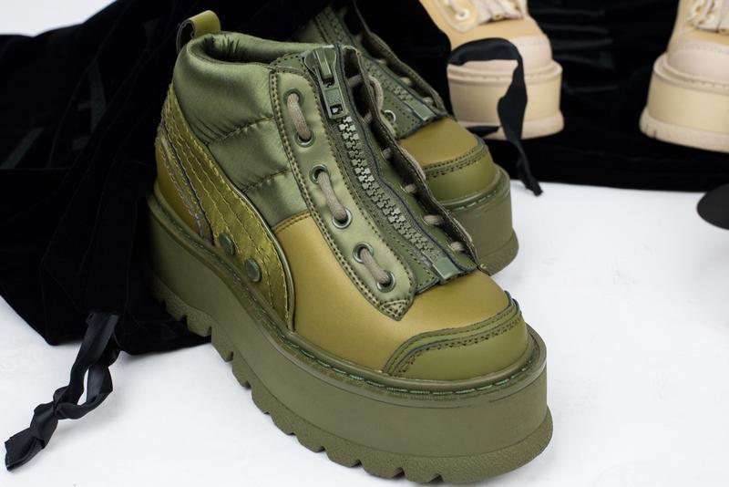 Стильные женские кроссовки puma x fenty zipped sneaker boots (...