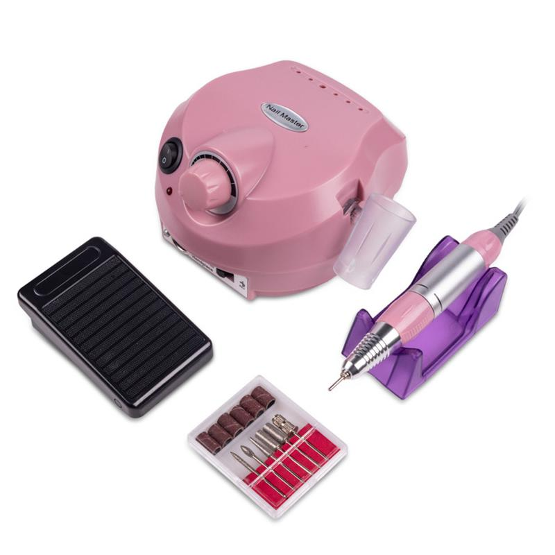 Фрезер Nail Drill ZS-601 PRO Pink (35000 об/45 Вт)