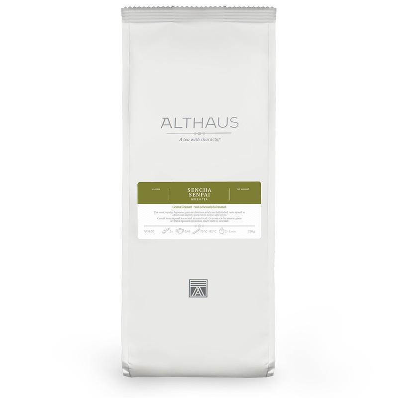 Зеленый чай Althaus Sencha Senpai 250гр