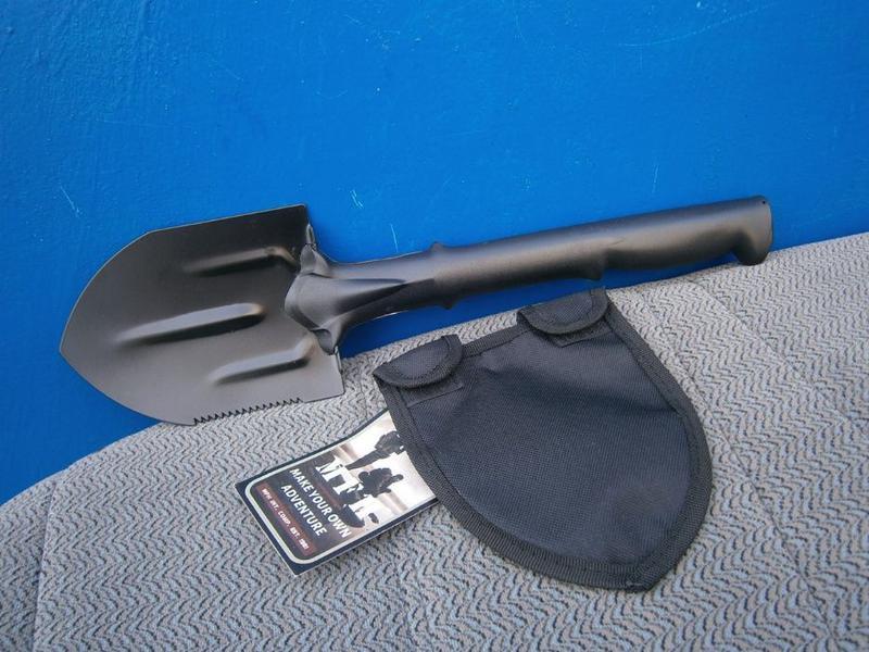 Лопата мала MFH 27021 з вуглецевої сталі Макс Фукс, Німеччина.