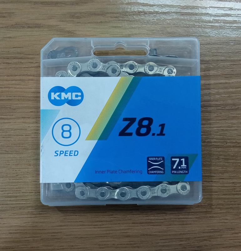 Цепь KMC Z8.1 Silver