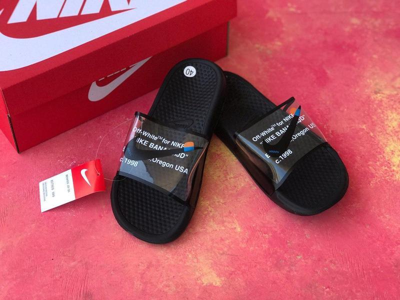 Шлепанцы Nike сланцы Nike