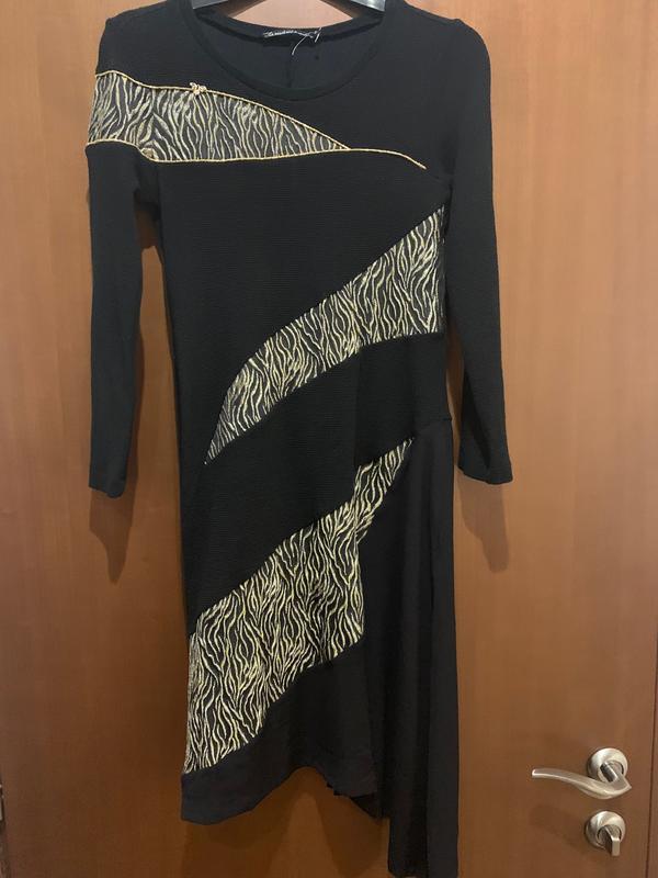 Платье теплое оригинальное