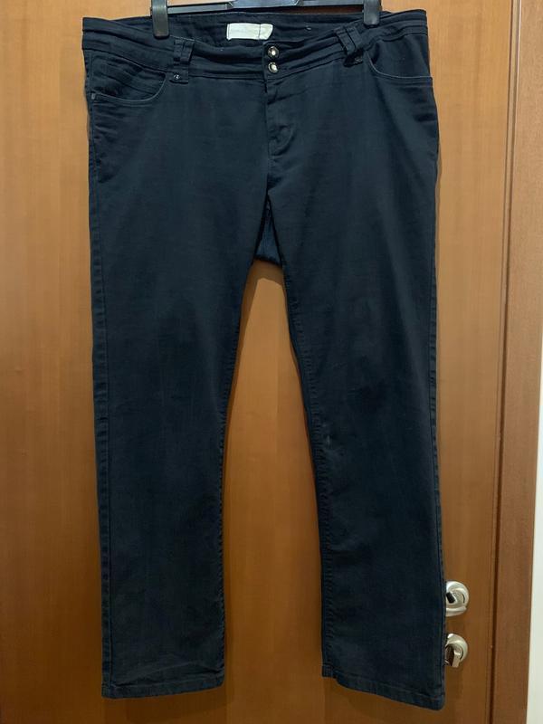 Черные джинсы большого размера