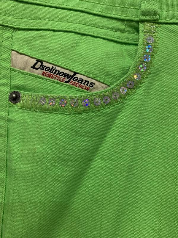 #розвантажуюсь ярко салатовые джинсы - Фото 4