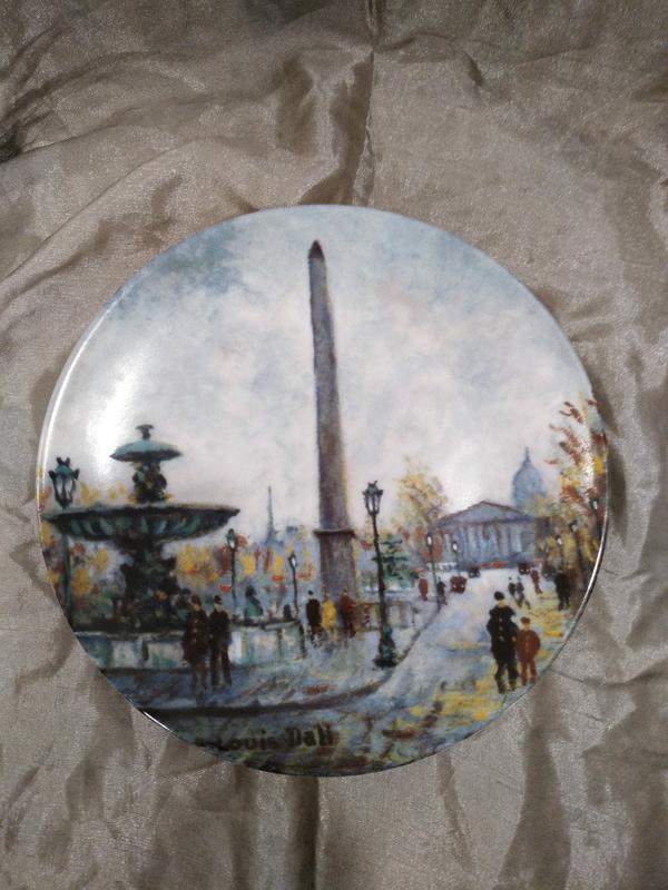 Коллекционная тарелка  Limoges Франция