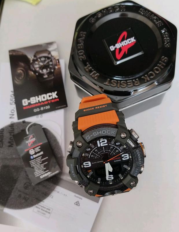 Часы Casio G-Shock MUDRESIST GG-B100 - Фото 4