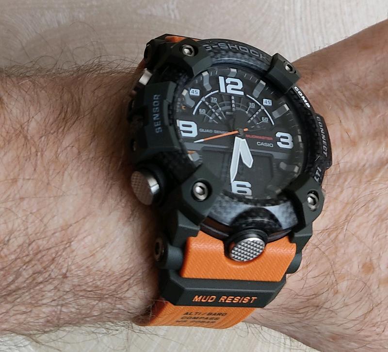 Часы Casio G-Shock MUDRESIST GG-B100 - Фото 2