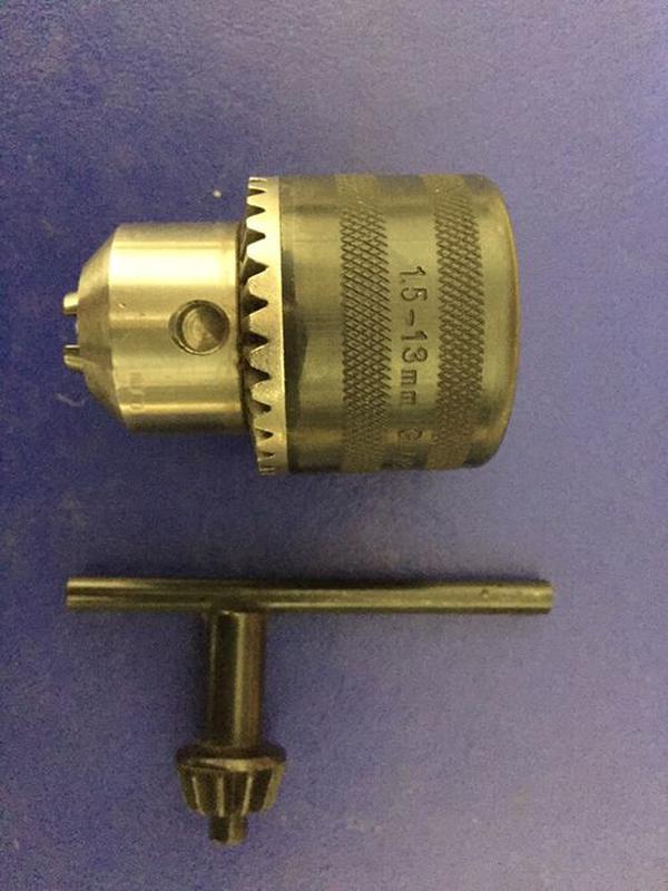 Патрон для сверления на болгарку 1,5-13 мм резьба м 14 шаг 2