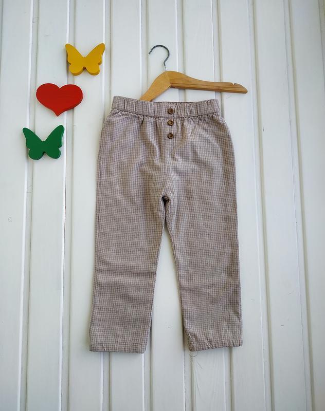 18-23 мес, брюки на подкладке,matalan