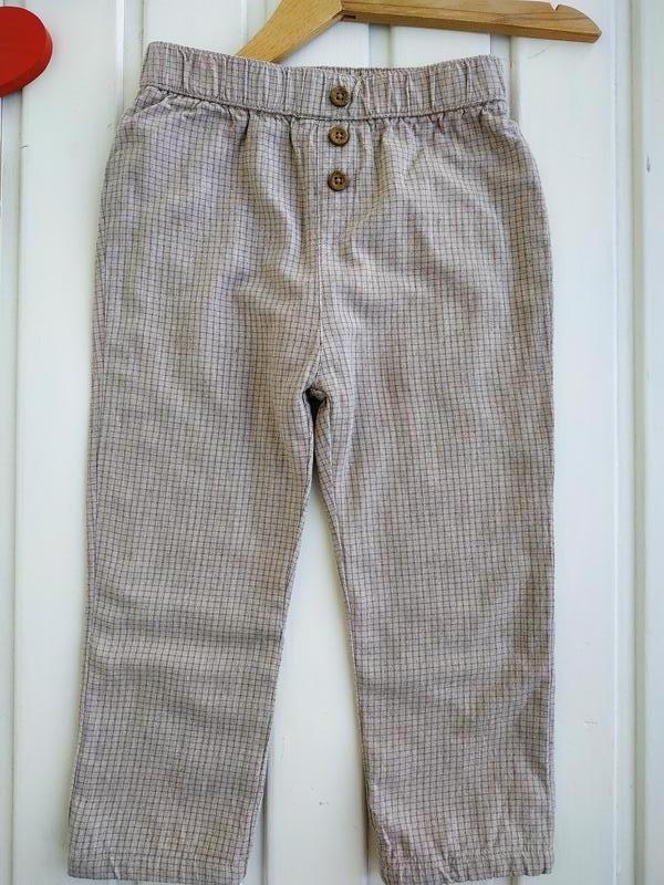 18-23 мес, брюки на подкладке,matalan - Фото 2