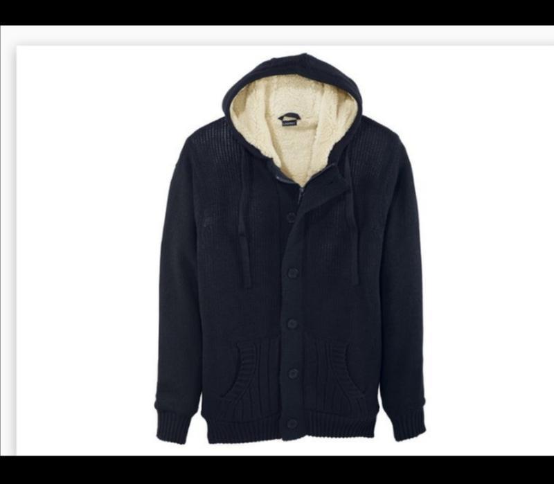 Тёплая кофта на меху, куртка livergy xl
