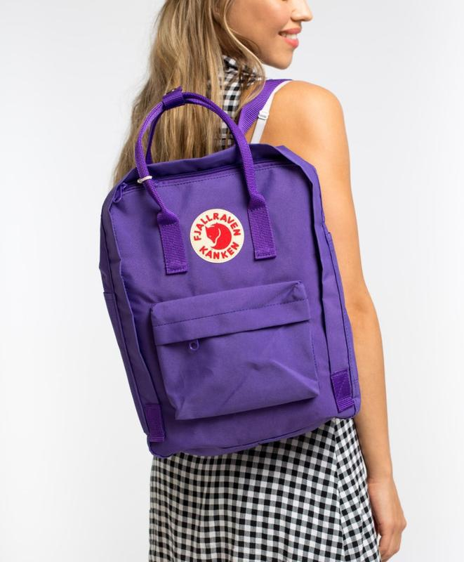 Рюкзак женский kanken classic 16l   рюкзак жіночий портфель