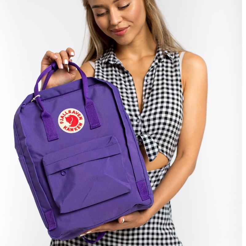 Рюкзак женский kanken classic 16l | рюкзак жіночий портфель - Фото 2