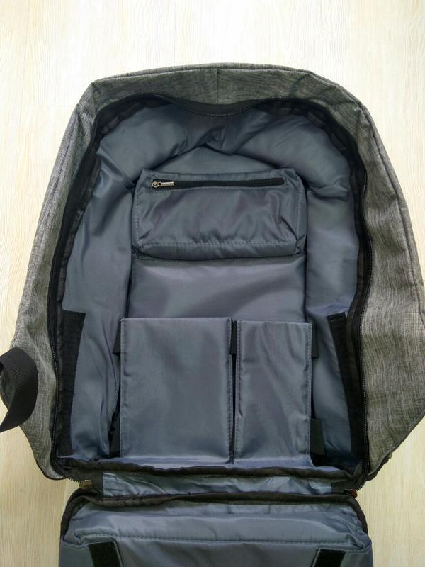 Рюкзак для ноутбука городской, спортивный антивор с usb выходо... - Фото 2