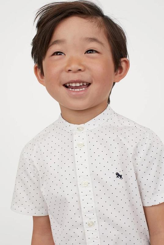 Нарядная рубашка для мальчика h&m