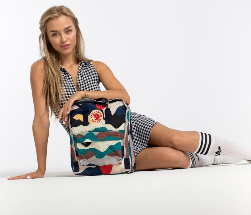 Рюкзак женский kanken art 16l   рюкзак жіночий портфель канкен - Фото 4
